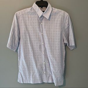 4 for $20 DKNY Light Blue Cotton SS Button Up